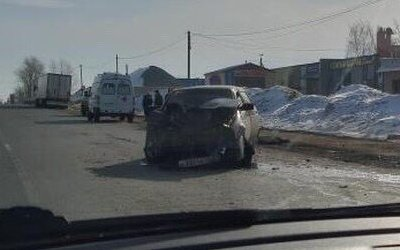 Два человека пострадали в ДТП в Бессоновском районе