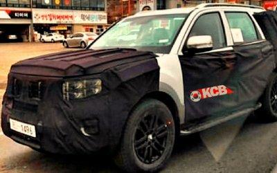 На дорогах тестируется новый KIA Mohave