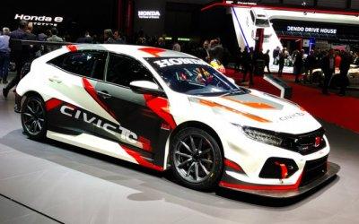 J.A.S. Motorsport показал в Женеве подготовленный к гонкам Honda Civic Type R