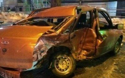 В Челябинске пьяный водитель спровоцировал ДТП