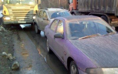 Девушка пострадала в ДТП в Петрозаводске