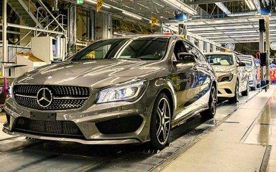 Российский завод Mercedes-Benz заработает вначале апреля