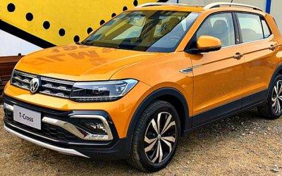 Появилась новая версия Volkswagen T-Cross