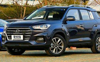 Hyundai ix35 стал бестселлером марки вКитае