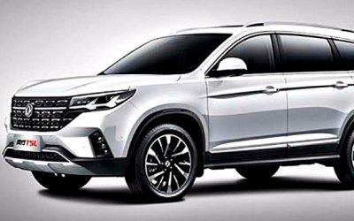 Скоро начнутся продажи кроссовера Dongfeng Forthing T5L