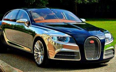 Электромобиль Bugatti? Pourquoi pas…