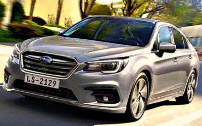 ВРоссию приехал новый Subaru Legacy