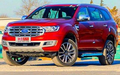 Обновлённый Ford Everest поступил впродажу