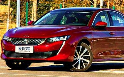 ВКитае начаты продажи удлинённого Peugeot 508