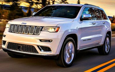Тестируется новый Jeep Grand Cherokee Trackhawk
