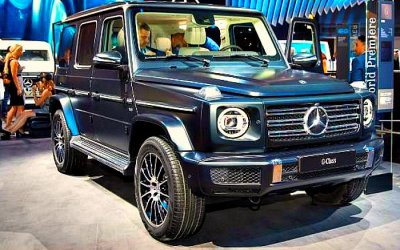 Mercedes-Benz разрабатывает форсированный G-Classe