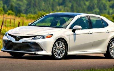 Toyota Camry стала самой продаваемой вРоссии японской машиной