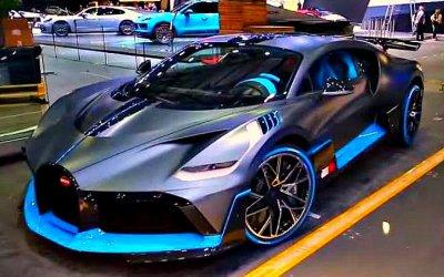 ПоЖеневе ездил электромобиль Bugatti