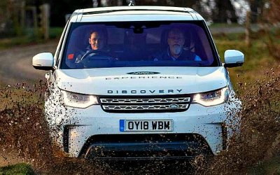 Land Rover Discovery стал лабораторией