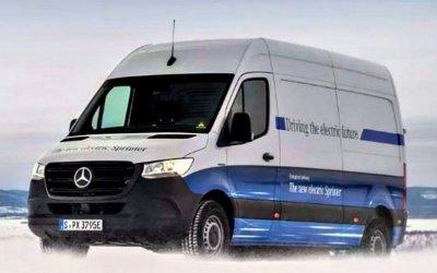Завершены зимние испытания электрического Mercedes-Benz Sprinter