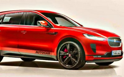 Jaguar J-Pace станет гибридом
