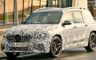 Mercedes-AMG GLB 35— премьера незагорами