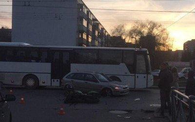 В Калининграде в ДТП погиб мотоциклист