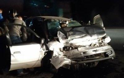 Пассажир иномарки погиб в ДТП в Усольском районе