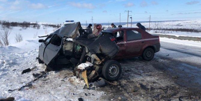 В ДТП под Мурманском погиб человек