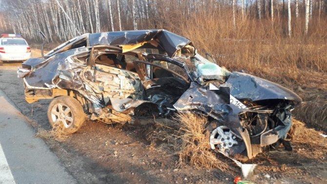 Женщина погибла в ДТП вКстовком районе (2)