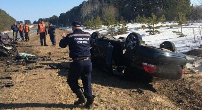 Два человека погибли в ДТП в Удмуртии (2)