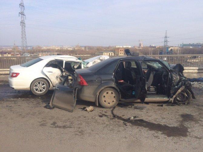 Три человека погибли в ДТП в Саранске (3)