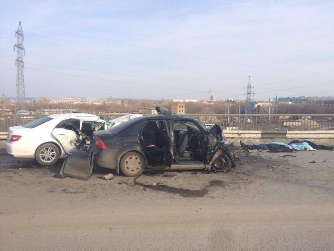 Три человека погибли в ДТП в Саранске (2)