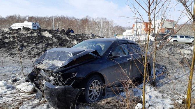 Водитель «Нивы» погиб в ДТП на Камчатке (1)