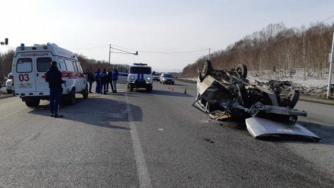 Водитель «Нивы» погиб в ДТП на Камчатке (3)