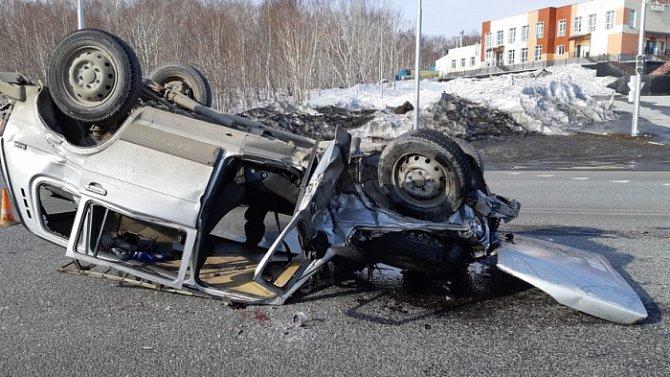 Водитель «Нивы» погиб в ДТП на Камчатке (2)