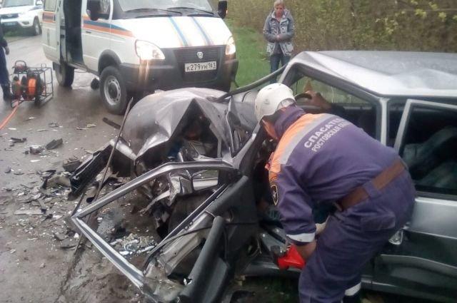 В ДТП в Каменском районе пострадали три человека
