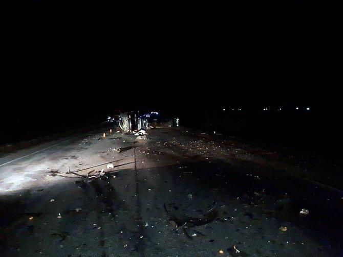 В ночном ДТП под Рязанью погибли два человека