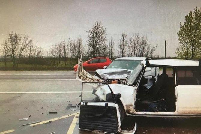 24-летний водитель ВАЗа погиб в ДТП на въезде в Краснодар (1)