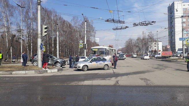 5-летний ребенок пострадал в ДТП с автобусом в Новокузнецке
