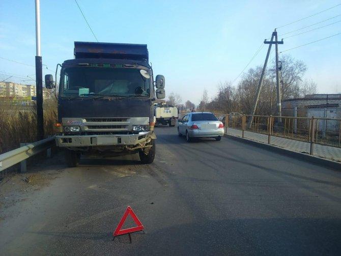 Женщина и двое детей пострадали в ДТП в Хабаровске (3)