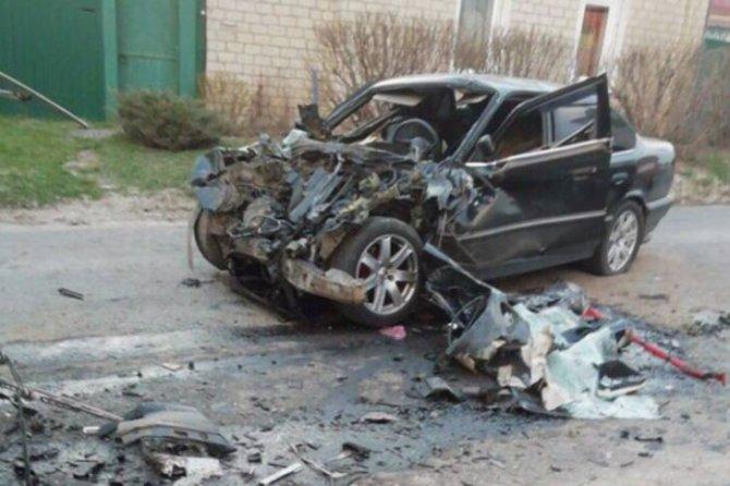 В Почепе в ДТП с автобусом погиб водитель иномарки (2)