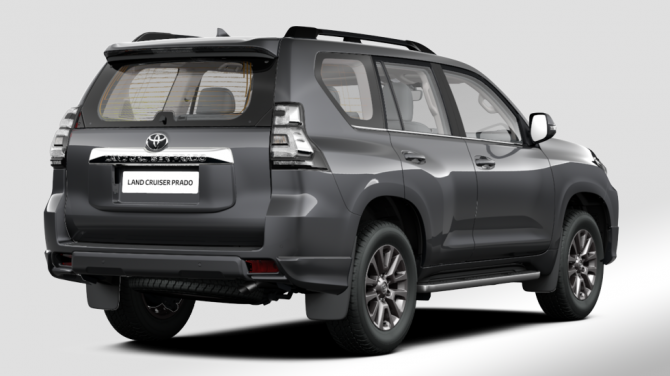 6 Toyota Land Cruiser Prado