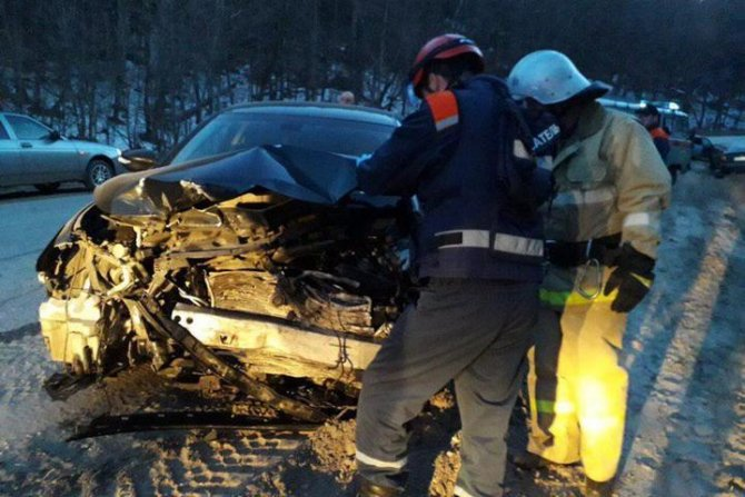 Женщина-водитель серьезно пострадала в ДТП в Хвалынском районе