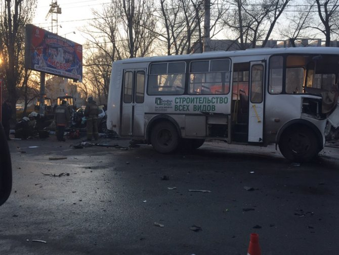 Четыре человека погибли в ДТП в Воронеже (2)