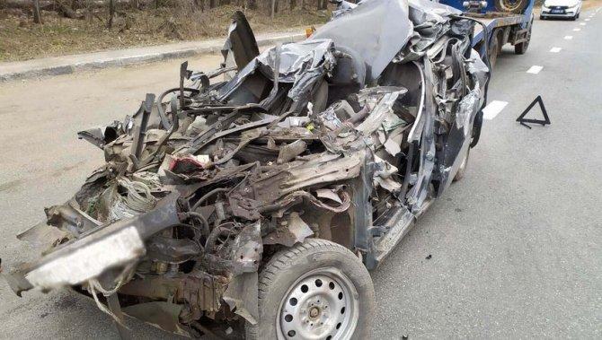 25-летний водитель погиб в ДТП в Удмуртии (2)