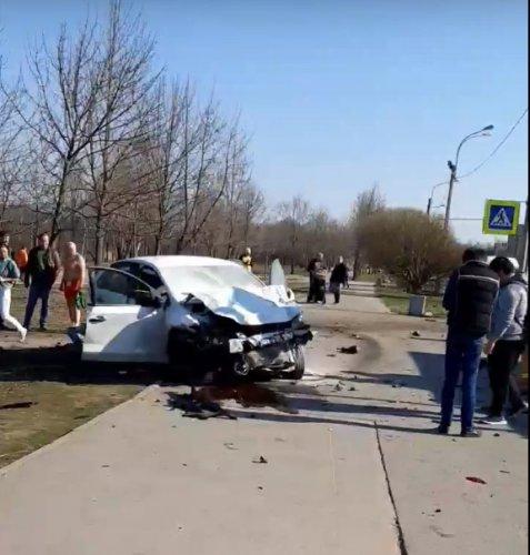 Четыре человека пострадали в ДТП в Приморском районе Петербурга (1)