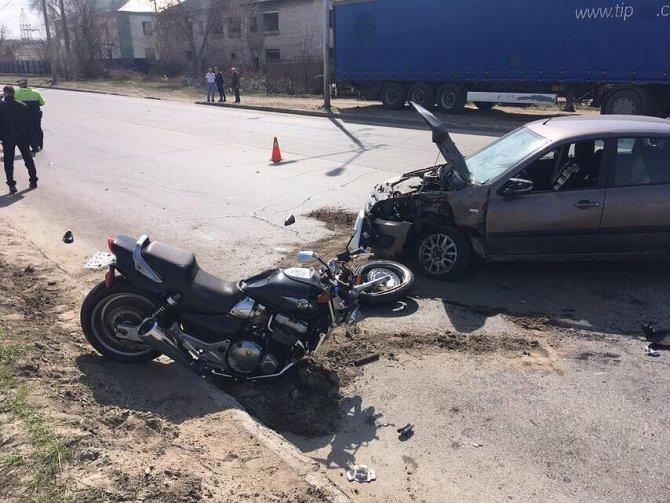 Мотоциклист погиб в ДТП в Тольятти