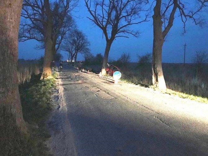 Молодой пассажир иномарки погиб в ДТП в Калининградской области