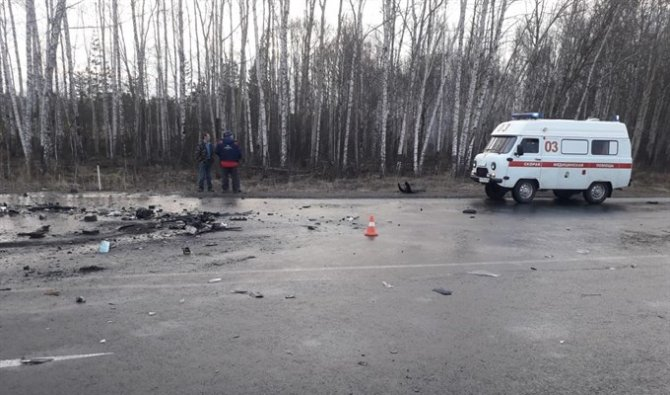 Три человека погибли в ДТП под Томском (2)