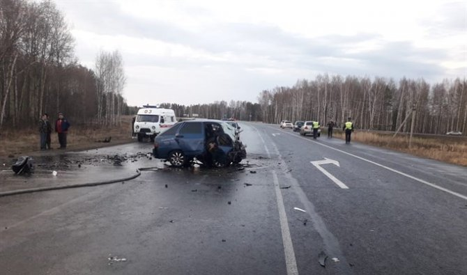 Три человека погибли в ДТП под Томском (1)