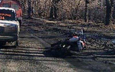 В ДТП в Петрозаводске пострадал мотоциклист