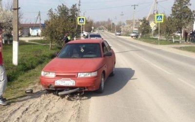 В Крымске ВАЗ сбил ребенка на велосипеде