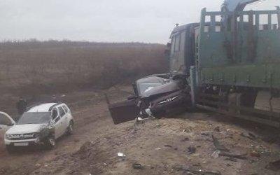 Шесть человек пострадали в ДТП в Волгоградской области