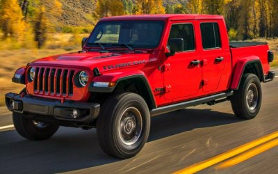 Стала известна стоимость пикапа Jeep Gladiator